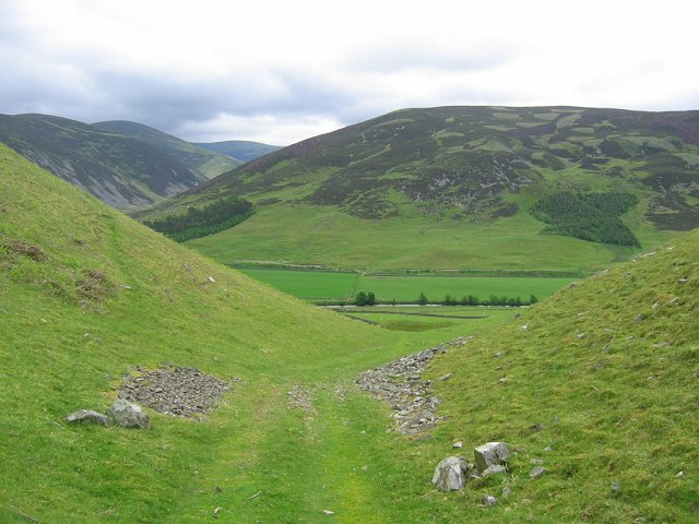 Tweed from the Logan Burn hillfort