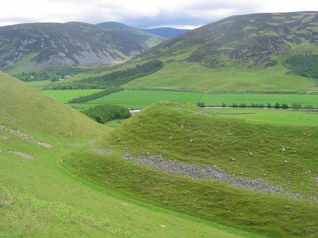 Hill fort, Logan Burn.