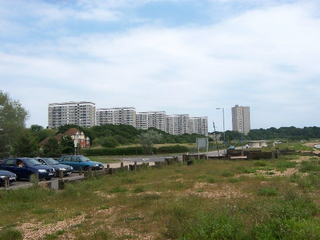 High-Rise Towers, Weston Shore, Southampton