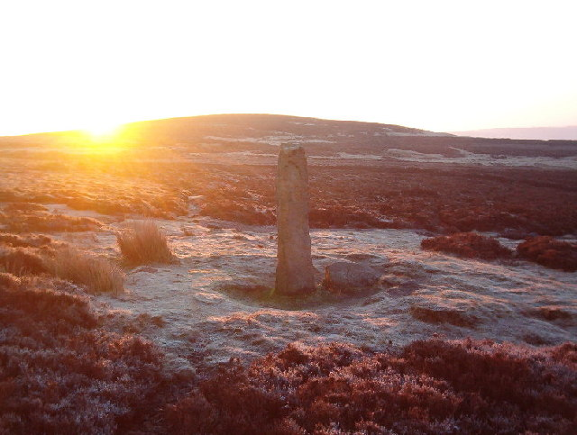 Standing stone, Crow Hill Nook