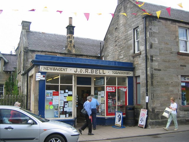 Shop in West Linton