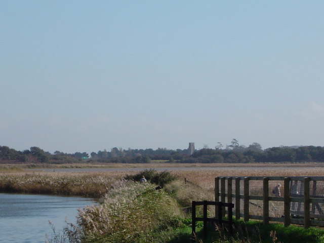 Footbridge near Snape Maltings