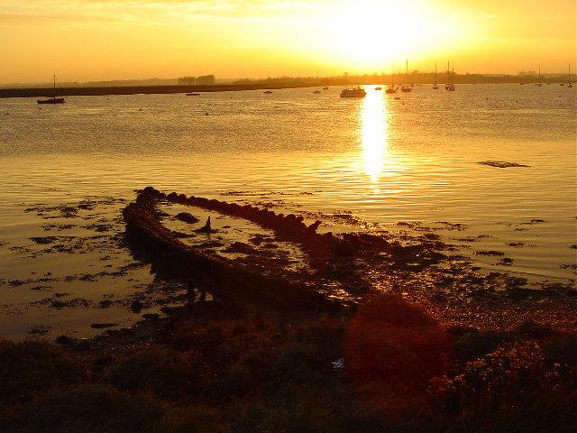 Westrow Reach, River Alde, Aldeburgh, Suffolk