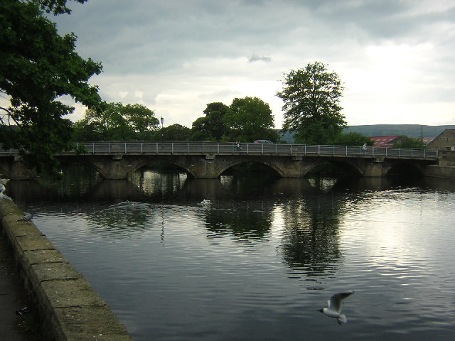 Otley Bridge, over the River Wharfe