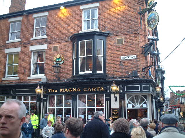The Magna Carta Exchequergate, Lincoln