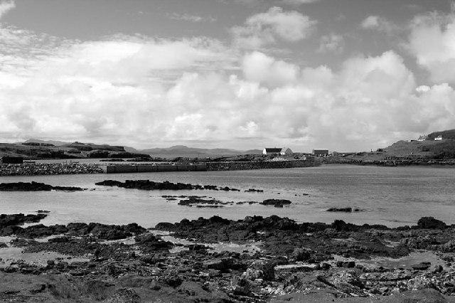 An Laimhrig, Isle of Eigg