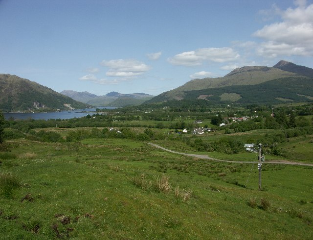 Taynuilt from near Balindore