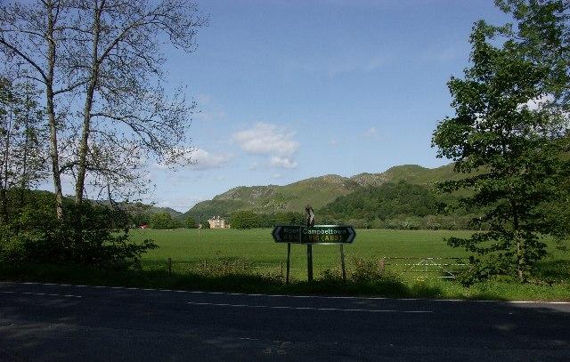 Barbreck House near Ardfern, Argyll