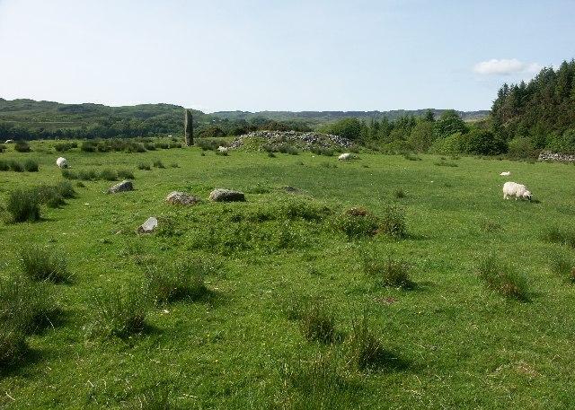 Standing stone near Ardfern, Argyll