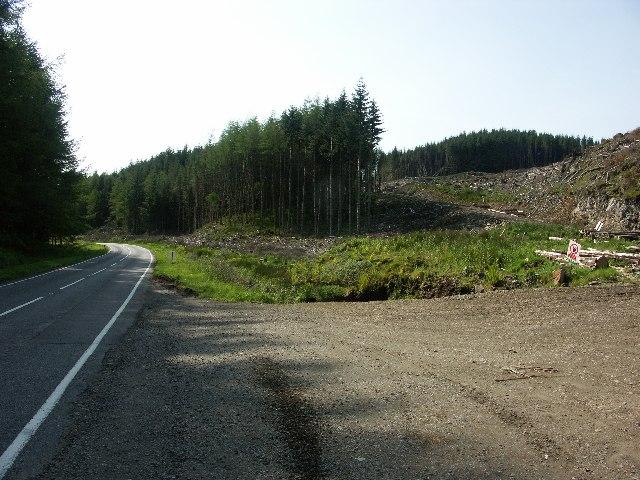A816 near Salachary, Argyll