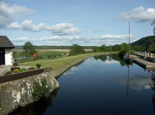 Crinan Canal near Bellanoch, Argyll