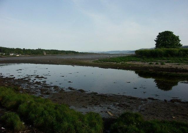 Loch Gilp near Lochgilphead