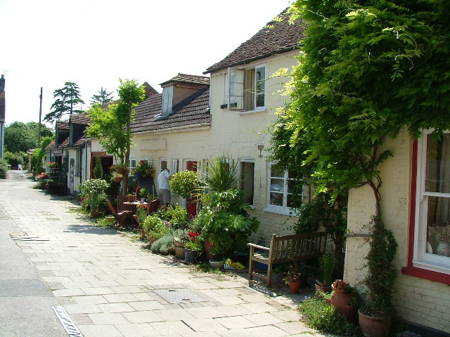 Red Lion Yard at Blandford Forum