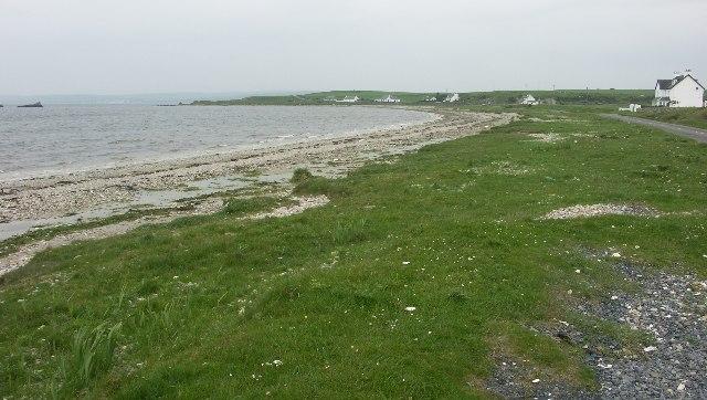 North shore of Loch Indaal near Blackrock