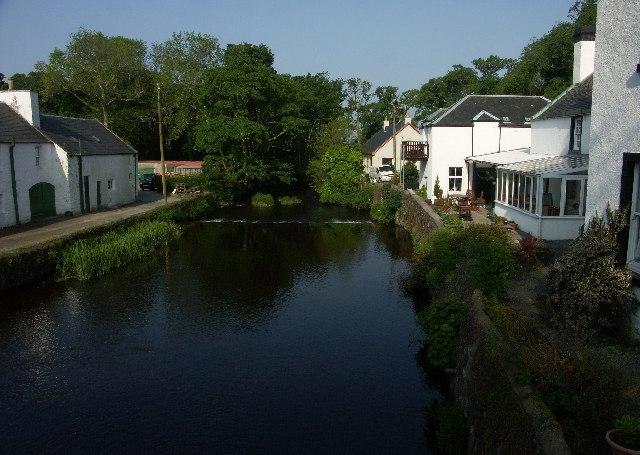River Sorn, Bridgend, Islay