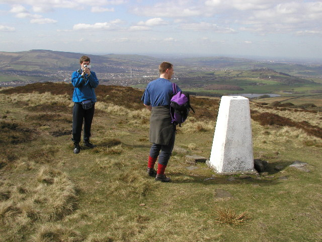Cock Hill trig point