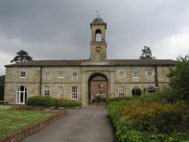 An old manor hall