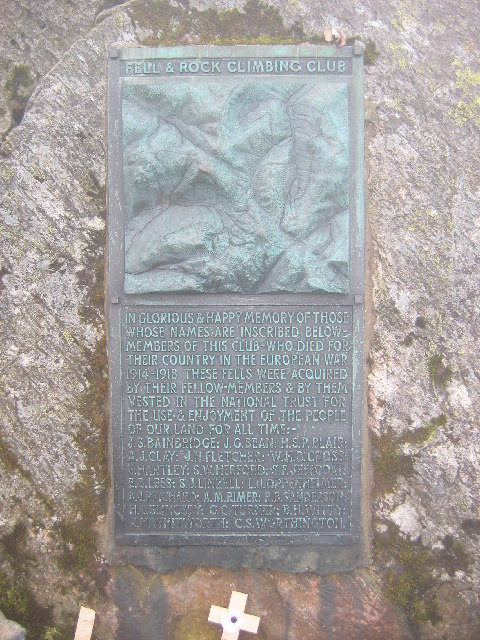 Great Gable - Summit Plaque