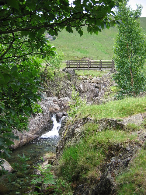 Bridge over Langstrath Beck