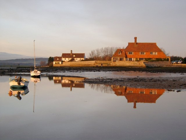 The house on the point, Bosham