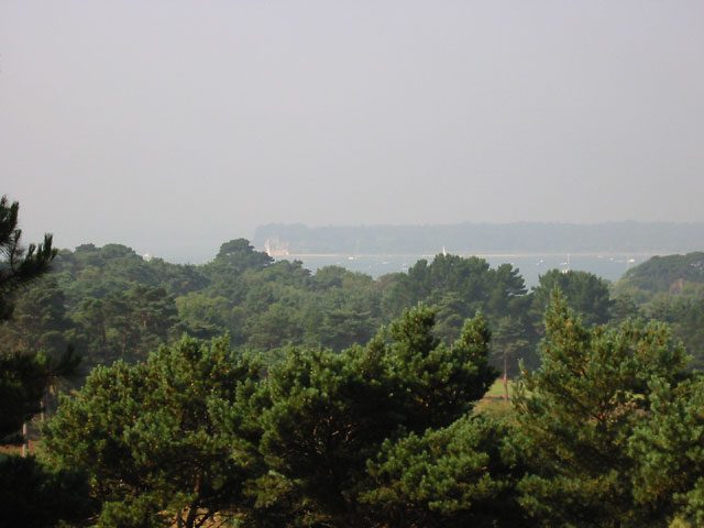 Poole Harbour from Canford Cliffs
