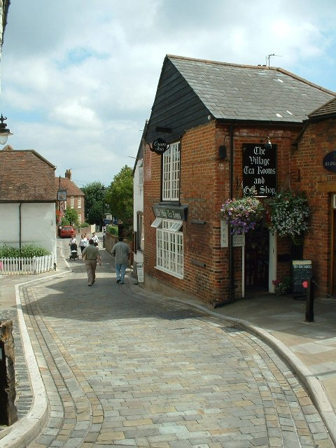 Cobbled streets of Hamble-le-Rice