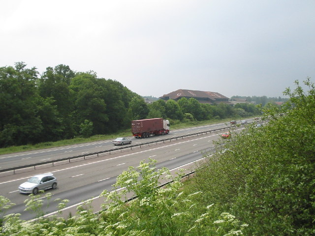 M3 Motorway and Ancells Business Park, Fleet