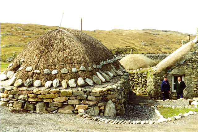 Gearranan Black houses, Carloway, Lewis