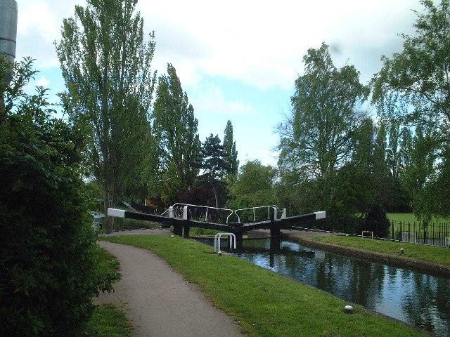 Erewash Canal - West Park Lock