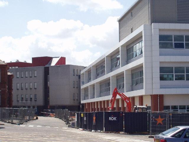 The new teaching block, Reid Kerr College