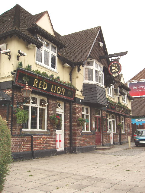 The Red Lion, public house in Greenford