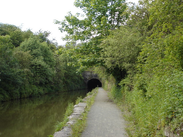 Eastern entrance to tunnel on Union Canal near Falkirk
