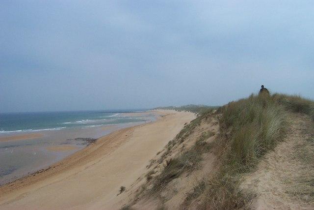 Sand Dunes near St Fergus oil Terminal