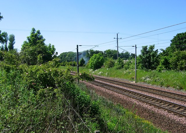 East Coast main line, Longniddry