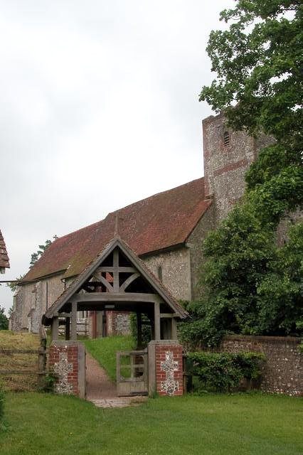 The church of St Michael & All Angels, Chalton.