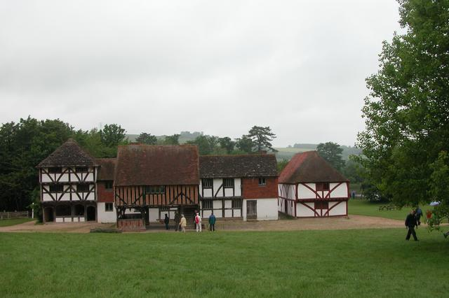 The Village centre, Weald and Downland museum.