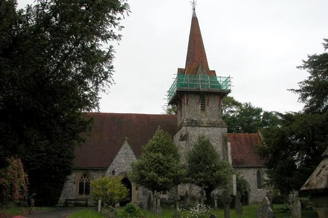 Holy Trinity church, Blendworth