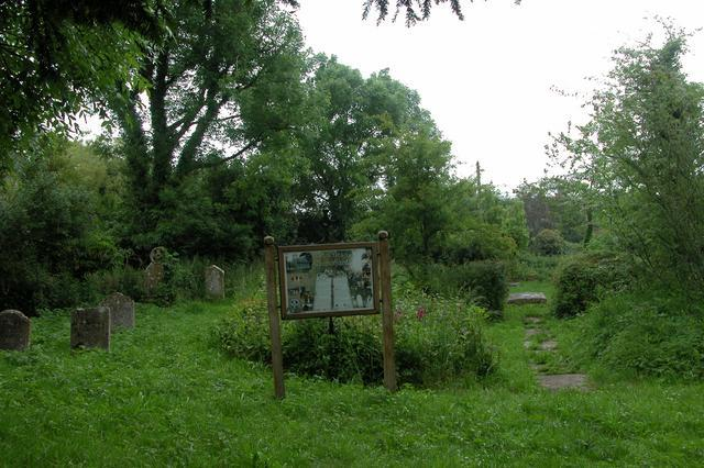 St Giles churchyard, Blendworth.