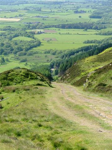 Ingleby Incline Looking Down