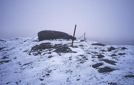 Summit of Carn Cul Sgor.