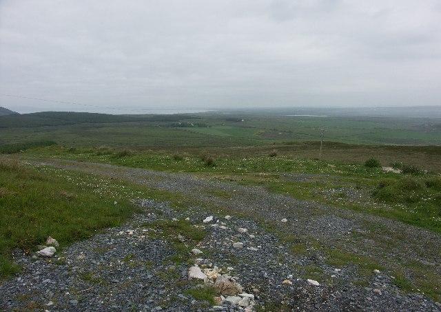View over Islay from Beinn Leathaig near Port Ellen