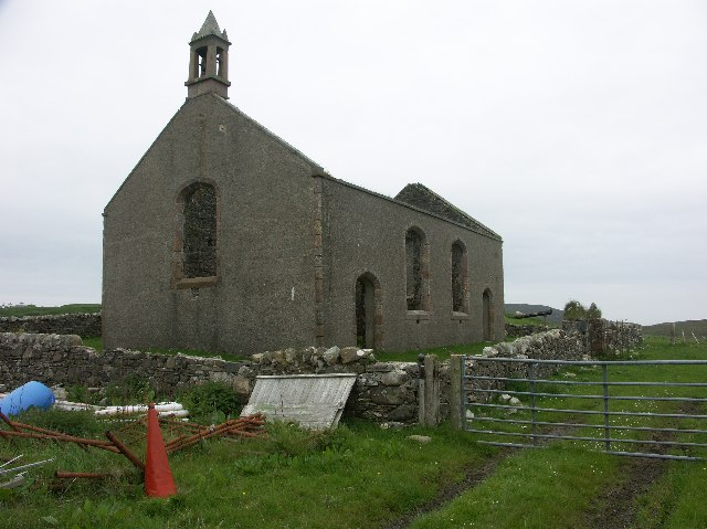 Risabus Church, Oa, Islay