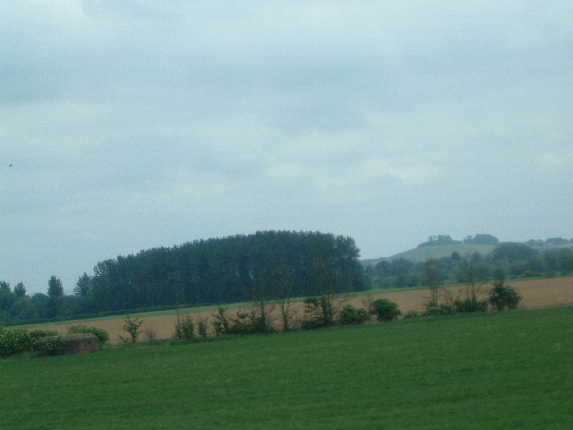Wittenham Clumps and an old Pillbox