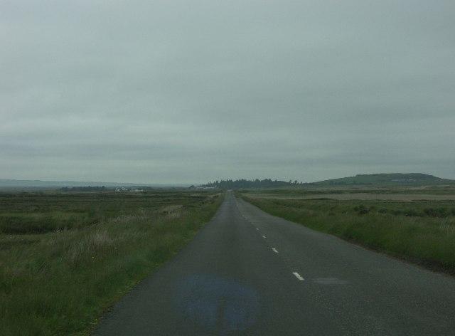 A846 Port Ellen to Bowmore road