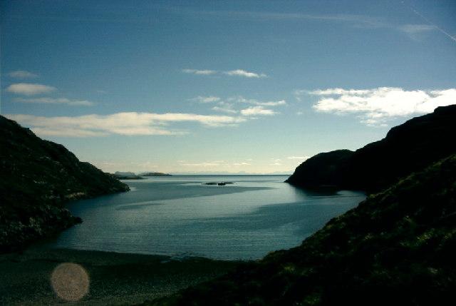 Loch Trollamarig on the Isle of Harris