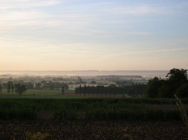 Looking east over The Vale Of Aylesbury