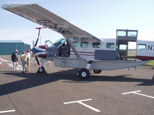 Prestwick Airport near Monkton