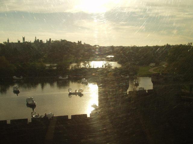 The lake, Alton Towers