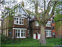 TQ2875 : John Walters House, Clapham Common. by Stuart Taylor