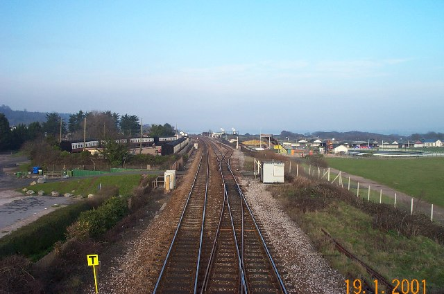 Railway near Dawlish Warren